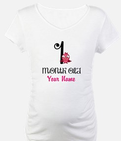 1 Month Old Baby Bird - Personalized Shirt