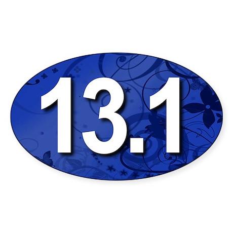 Super Unique 13.1 Fancy BLUE Sticker