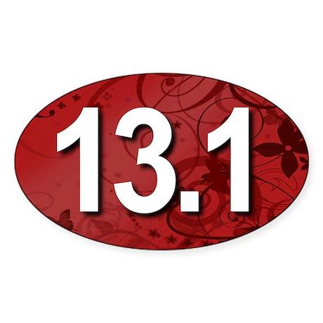 Super Unique 13.1 Fancy RED Sticker