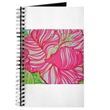 Hibiscus in Lilly Pulitzer Journal