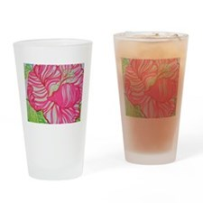 Hibiscus in Lilly Pulitzer Drinking Glass