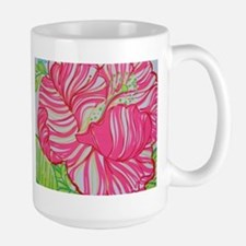 Hibiscus in Lilly Pulitzer Mug