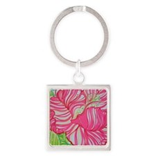 Hibiscus in Lilly Pulitzer Keychains