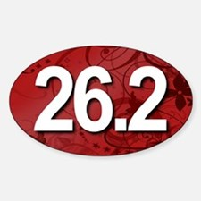 Super Unique 26.2 Fancy RED Decal