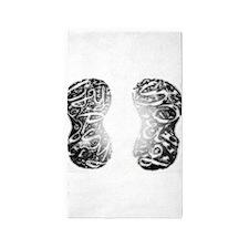Gleam_Gypsy Footprints (Lg) 3'x5' Area Rug
