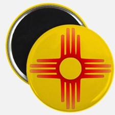 "Zia Sun Symbol 2.25"" Magnet (10 pack)"