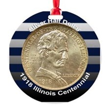 Illinois Centennial Coin Ornament