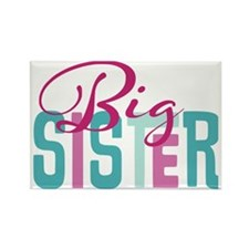 Big Sister Rectangle Magnet