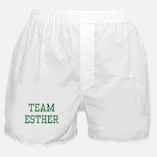 TEAM ESTHER  Boxer Shorts