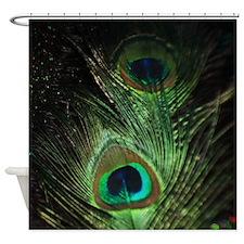 Loma Peacock Shower Curtain