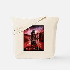 Esu-Anubis Tote Bag