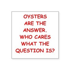 oysters Sticker