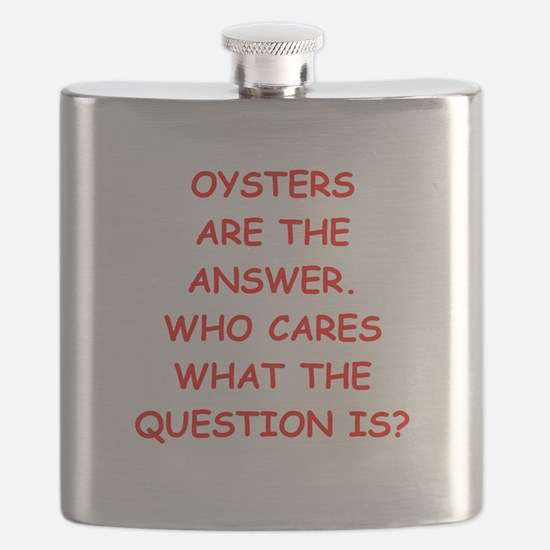 oysters Flask