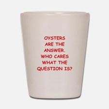 oysters Shot Glass