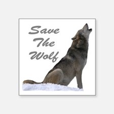 Save The Wolf Sticker
