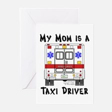 Taxi Driver Mom Greeting Cards (Pk of 10)