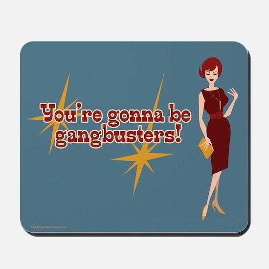 Mad Men Gangbusters Mousepad