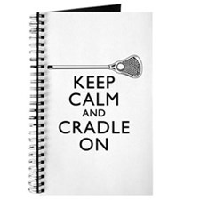 Keep Calm And Cradle On Journal