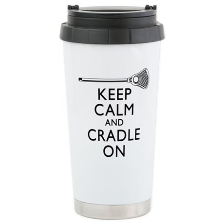 Keep Calm And Cradle On Travel Mug
