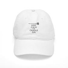 Keep Calm And Cradle On Baseball Baseball Cap