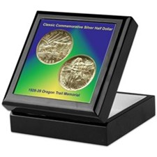 Oregon Trail Coin Keepsake Box