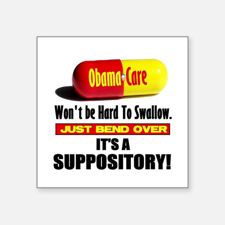 "ObamaCare 3"" Lapel Sticker (48 pk) Sticker"