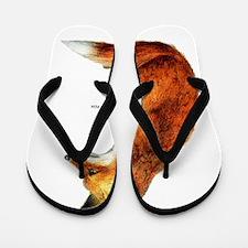 Red Fox Animal Flip Flops