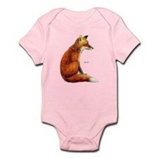 Red Fox Animal Infant Bodysuit