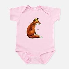 Red Fox Animal Infant Bodysuit