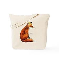 Red Fox Animal Tote Bag
