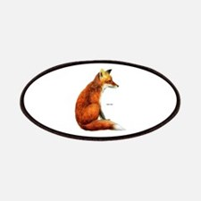 Red Fox Animal Patches