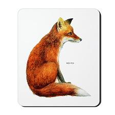 Red Fox Animal Mousepad