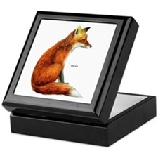 Red Fox Animal Keepsake Box