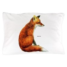 Red Fox Animal Pillow Case