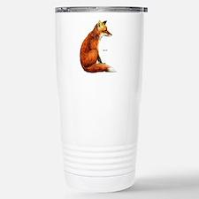 Red Fox Animal Stainless Steel Travel Mug