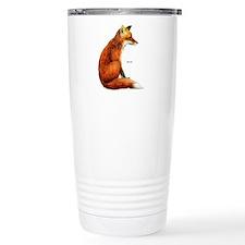 Red Fox Animal Travel Mug