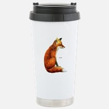 Red Fox Animal Travel Mug
