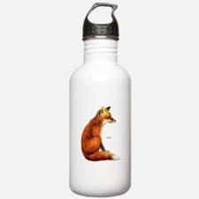 Red Fox Animal Water Bottle
