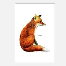 Red Fox Animal Postcards (Package of 8)