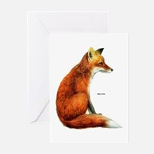 Red Fox Animal Greeting Cards (Pk of 10)