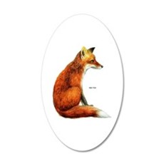 Red Fox Animal Wall Sticker