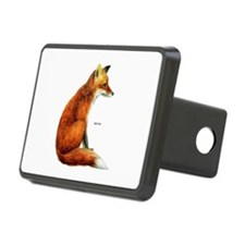 Red Fox Animal Hitch Cover