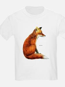 Red Fox Animal T-Shirt