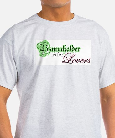 Baumholder is for Lovers Ash Grey T-Shirt