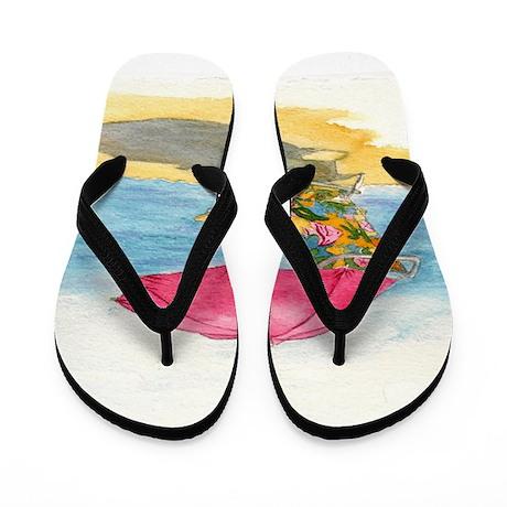 Beach Chair Flip Flops by YvonneCarter