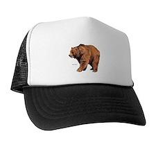 Kodiak Bear Animal Trucker Hat