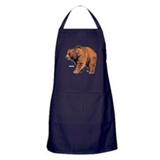 Kodiak Bear Animal Apron (dark)