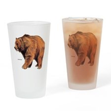 Kodiak Bear Animal Drinking Glass