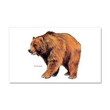 Kodiak Bear Animal Car Magnet 20 x 12
