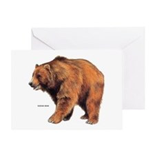 Kodiak Bear Animal Greeting Card